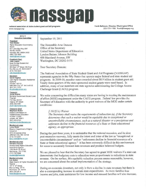 NASSGAP-letter-re-CACG-Maintenance-of-Effort-pdf-1 | National