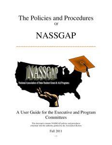 NASSGAP User Guide Fall 2011 pdf 1 - NASSGAP_User_Guide_Fall_2011-pdf-1