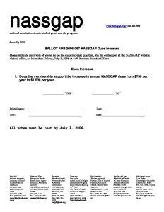 06 07 Ballot for NASSGAP Dues Increase pdf 232x300 - 06-07-Ballot-for-NASSGAP-Dues-Increase