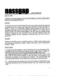 NASSGAP LEAP Research RFP 2006 pdf 225x300 - NASSGAP-LEAP-Research-RFP-2006