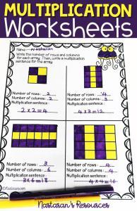 Multiplication worksheets 3rd Grade