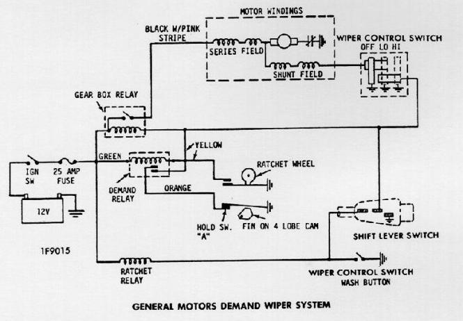chevelle wiper motor wiring diagram wiring diagram windshield wiper wiring 1966 chevelle hot rod forum hotrodders