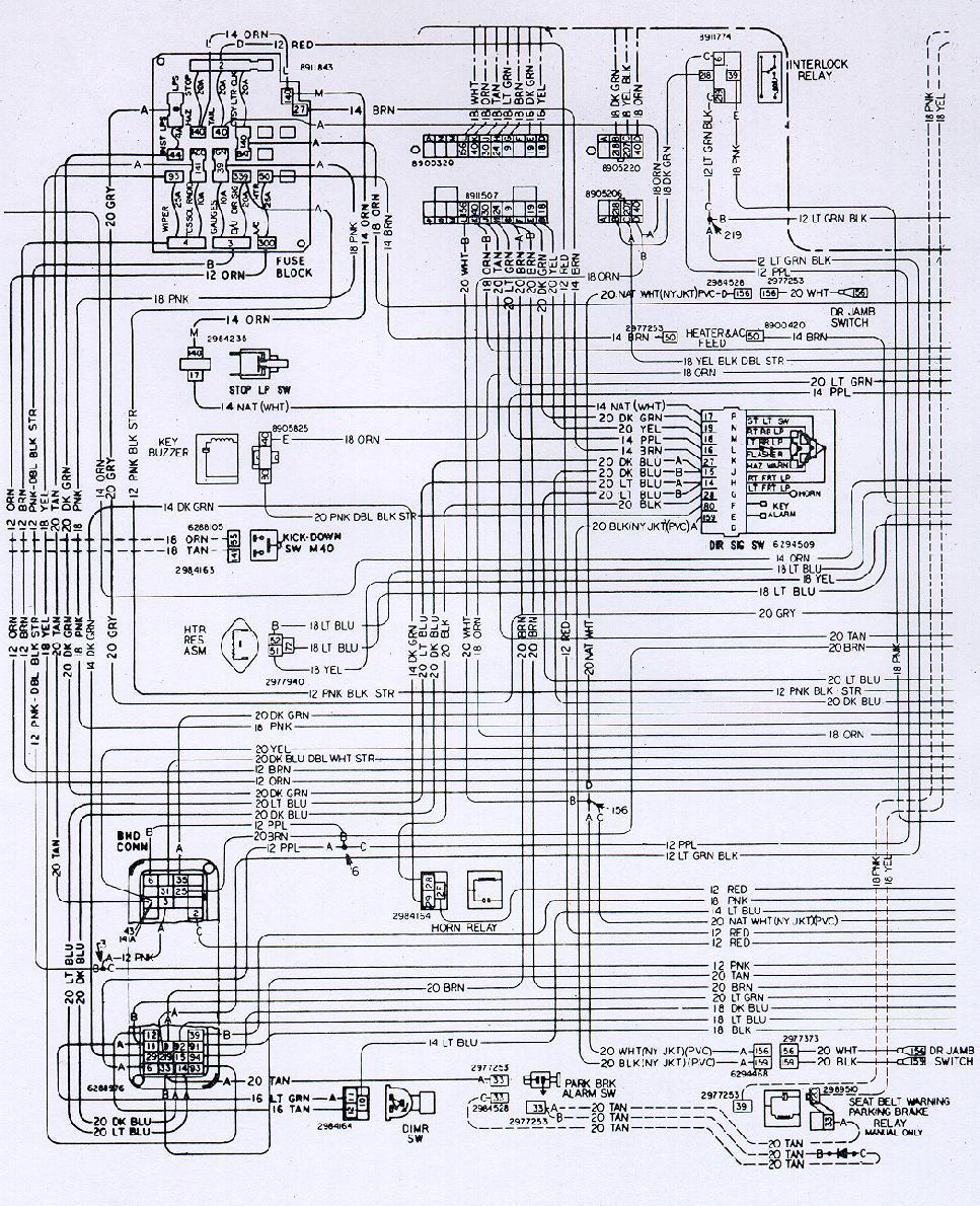 Wiring diagram old bussmann fuse panel kenworth t