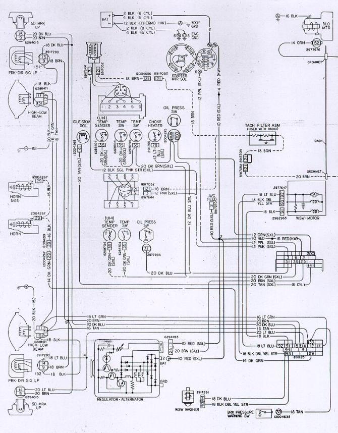 1968 camaro ignition switch wiring diagram  dresser wiring