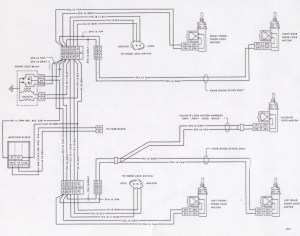 Electic Window Wiring Diagram 1977 Chevy | automotive