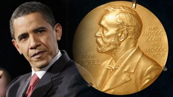 obama - nobel prize