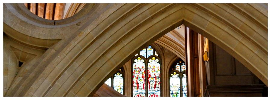 Katedra w Wells zachodnia Anglia niedaleko Bristolu i Bath