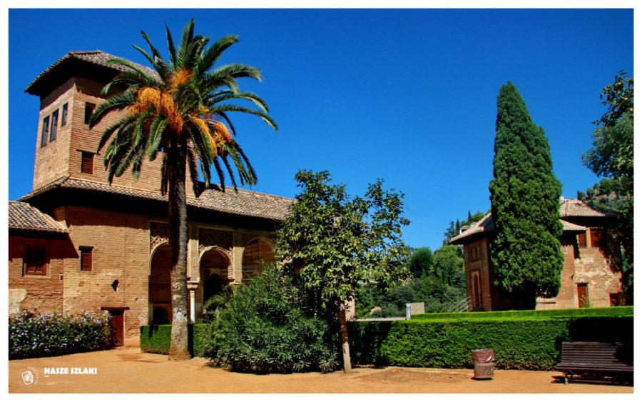 Twierdza Alhambra w Andaluzji - Hiszpania