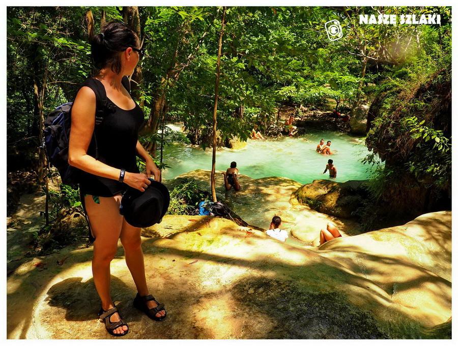 Wodospady Erawan - Tajlandia