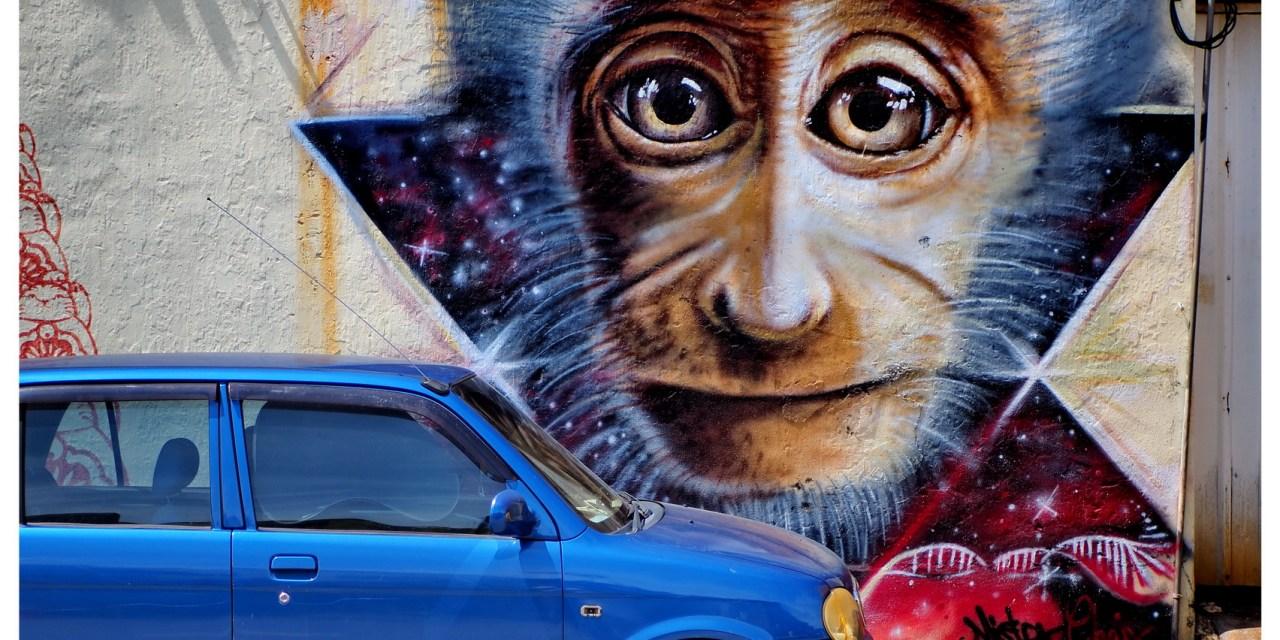 Street Art w George Town – Malezja