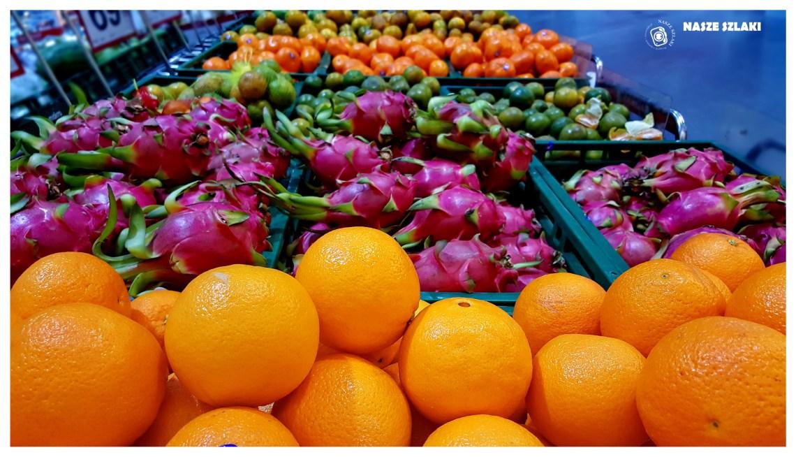 Targ owocowy w Tajlandii