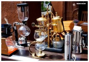 Ekspres do kawy, znaleziony na targu w George Town w Malezji