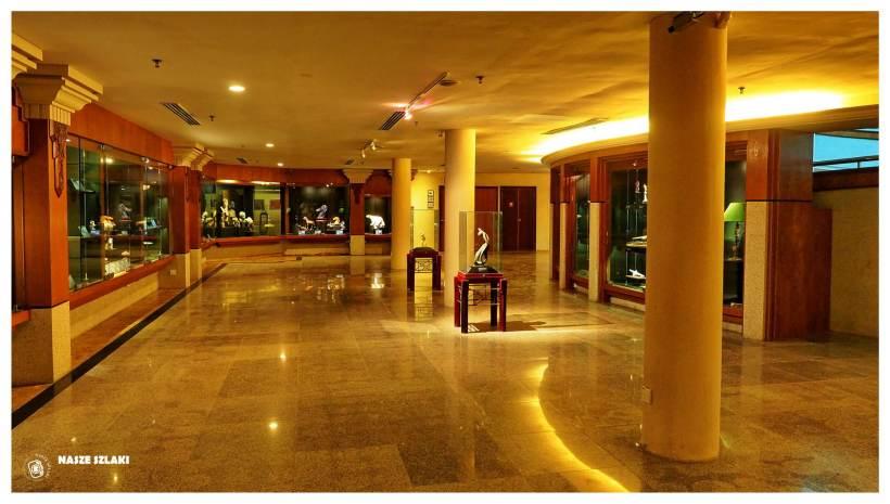 Sala wystawowa w muzeum galerii Pengana na wyspie Langkawi w Malezji