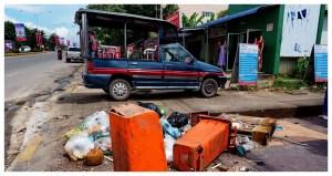 Sihanoukville-Kambodża-Azja-plaża-atrakcje-co-zobaczyć-otres-beach-blog-podróżniczy-śmieci-bród-Krong-Preah-miasto