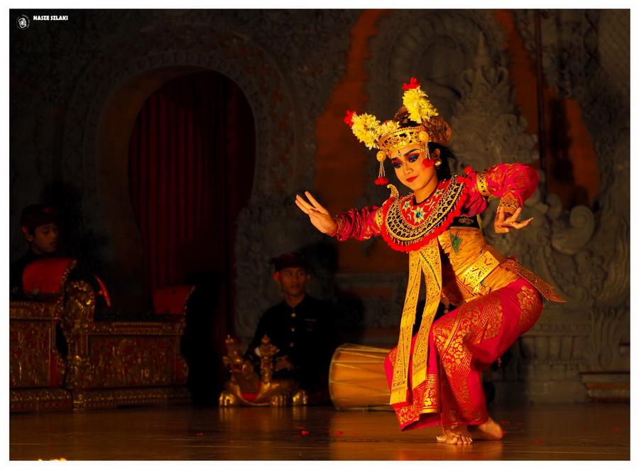Bali w Indonezji - Tradycyjny taniec balijski