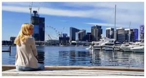 Docklands Melbourne w Australii