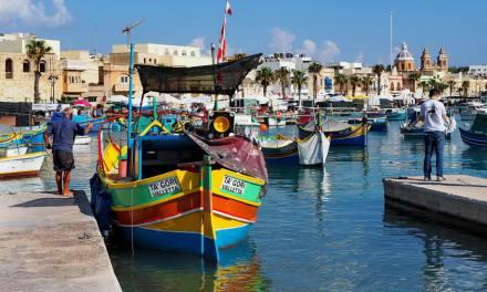 Malta – Targ rybny we wsi Marsaxlokk