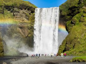 Skogarfoss. Photo: Greg Maino, Juskuz.com
