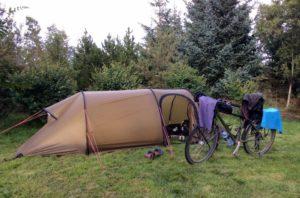 Camping in Mosfellsbaer