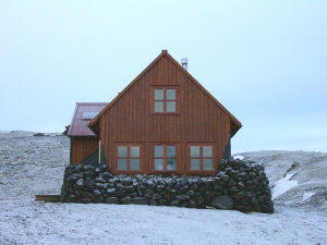 The Strutur Mountain Hut. Photo: www.utivist.is