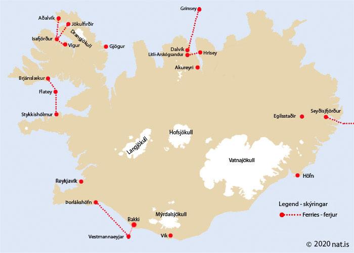 Ferrie map