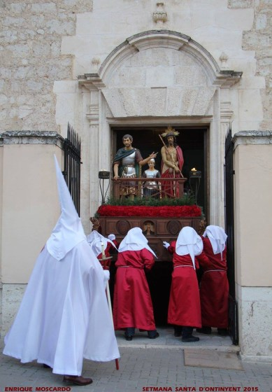 Ecce Homo, Holy Week procession in Onteniente