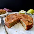 Pear and Almond Cake, Mama Ía