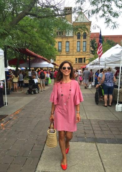 Barr Street Farmers market, Mama ía