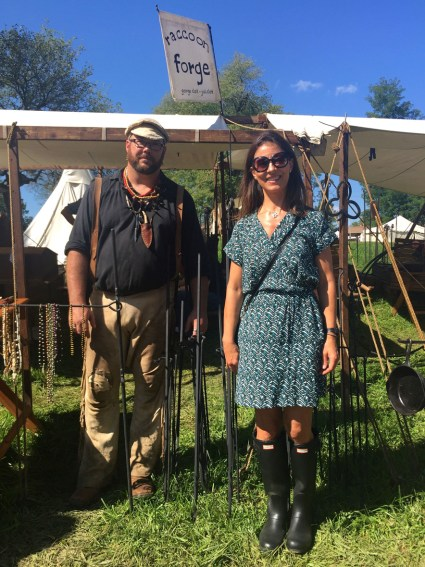 Forge, Johnny Appleseed Festival, Mama ía