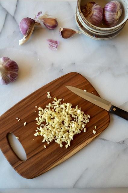 Garlic, Mama ía blog