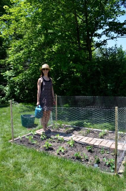 Vegetable garden, Mama ía