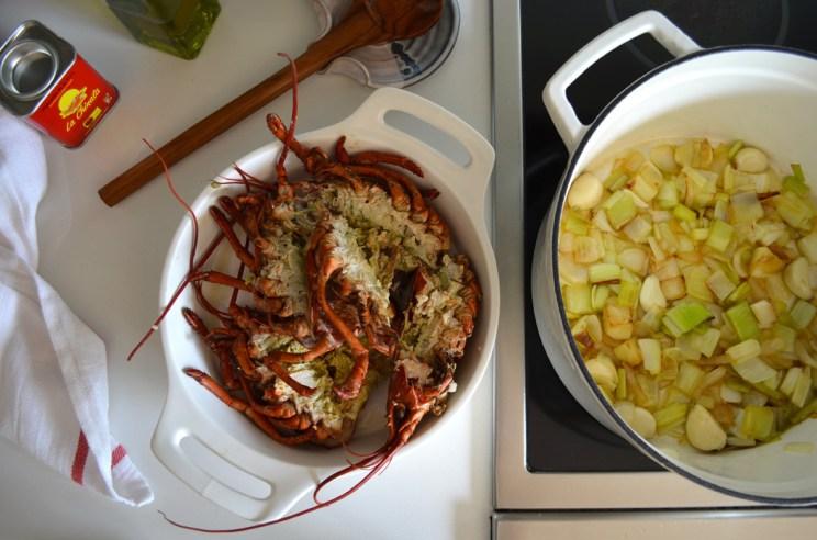 Lobster stock, Mama ía blog