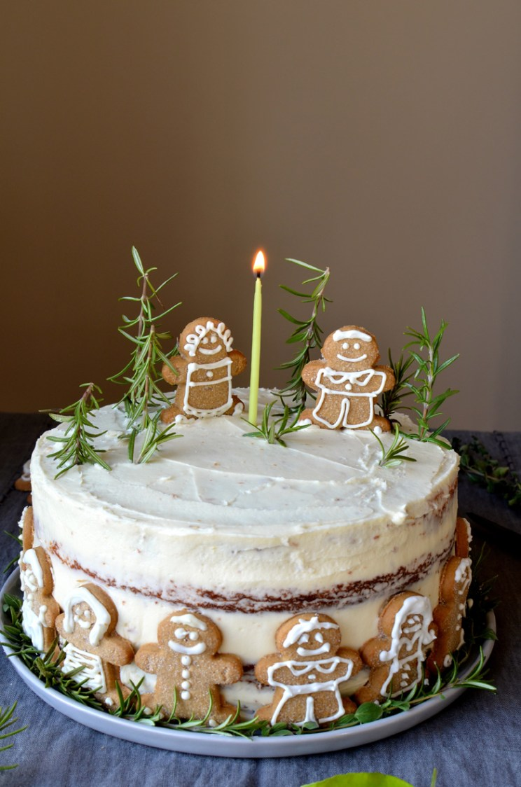 Brilliant Lemon Layer Cake With Lemon Curd Buttercream And Ginger A Personalised Birthday Cards Paralily Jamesorg