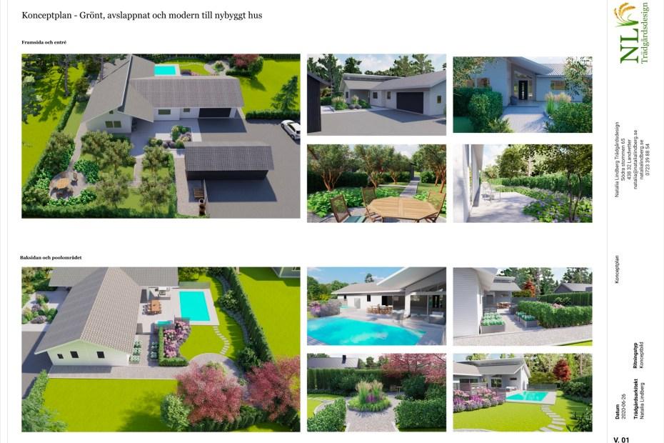 Trädgårdsarkitekt i Göteborg - Natalia Lindberg trädgårdsdesign - trädgårdsplanering i 3D