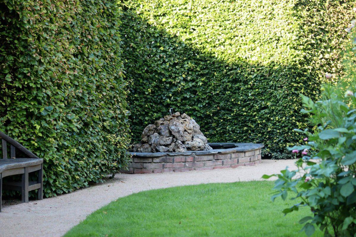 Natalia Lindberg Trädgårdsdesign - Besök till Göteborgs botaniska trädgård fontän