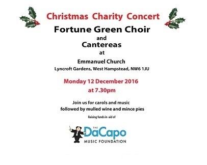 Fortune Green Choir flyer