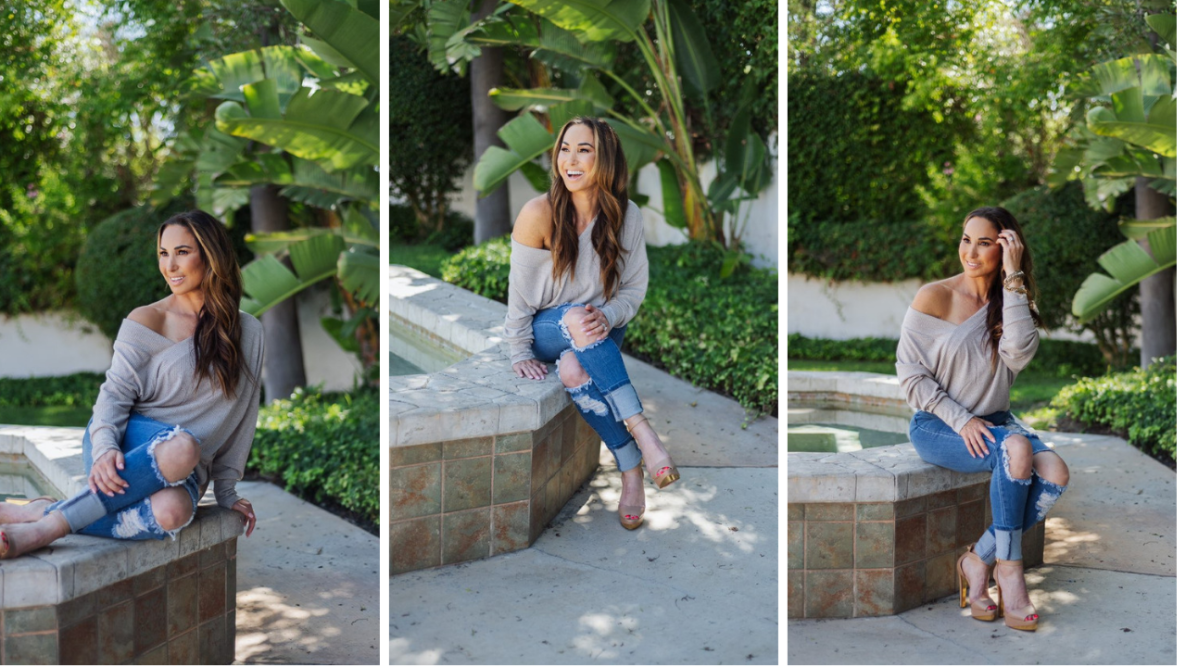 How to look and feel confident in pictures with Natalie Jill