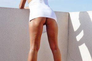 NatalieK com xxx hotwife porn adult outdoors high heels