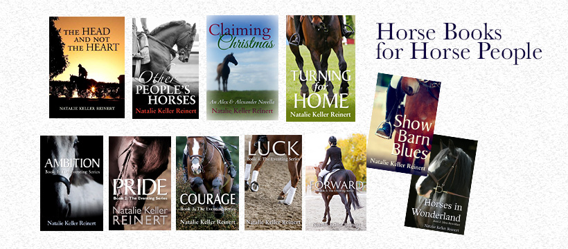 Natalie Keller Reinert Horse Books for Horse People