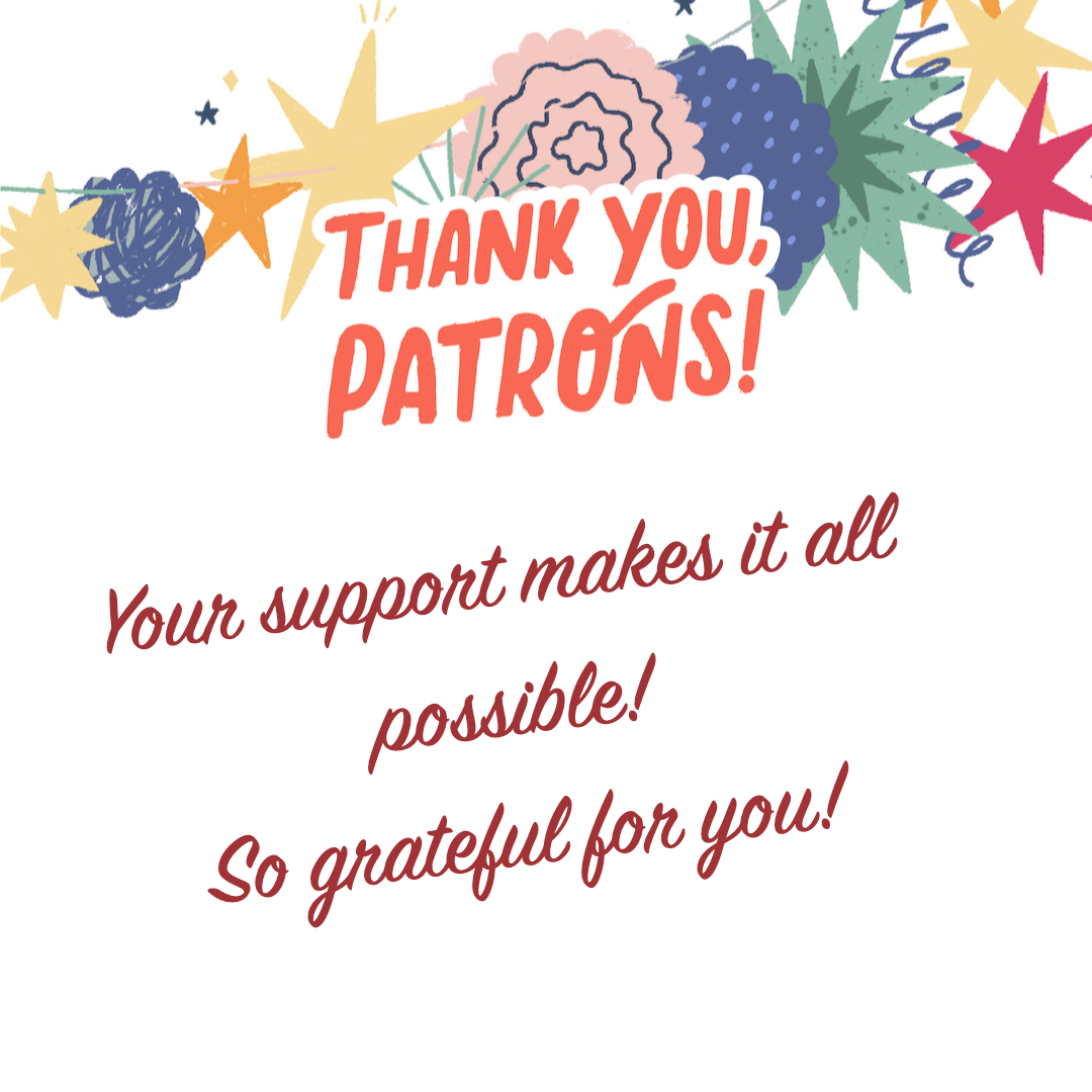 Thank you Patrons