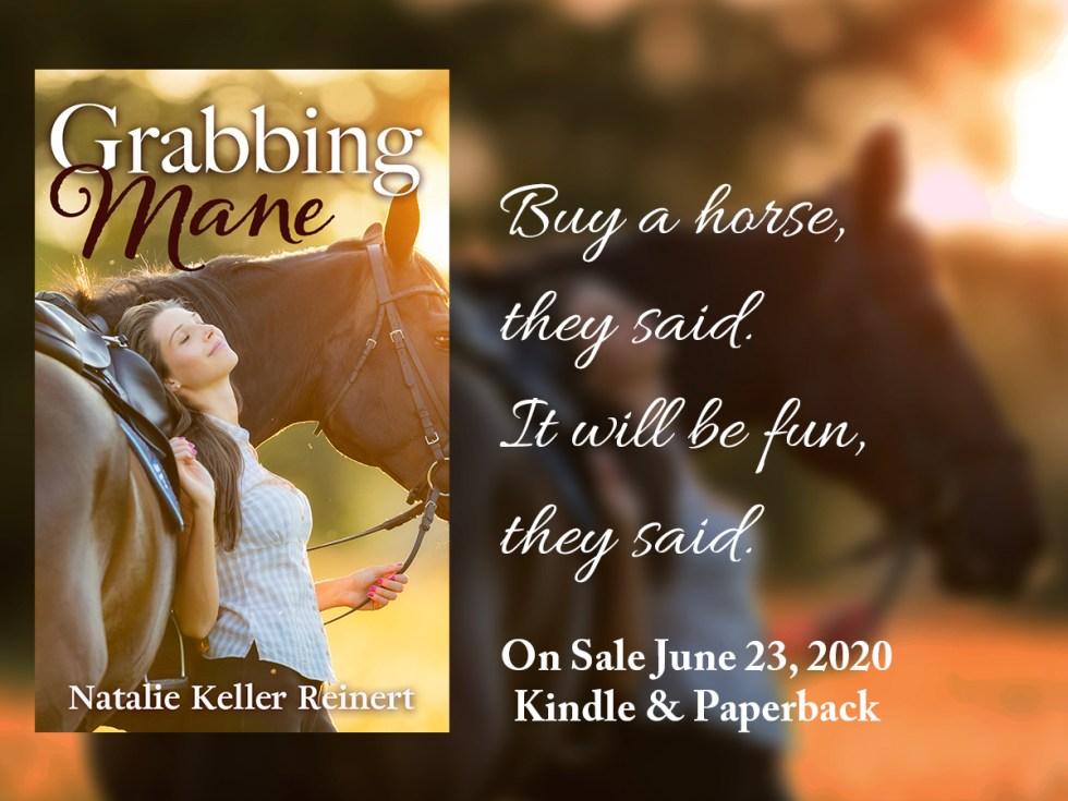 Grabbing Mane new equestrian novel