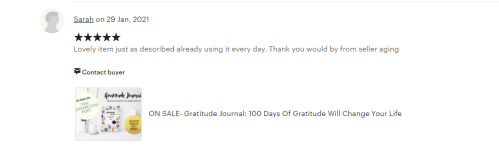 gratitude journal review 7