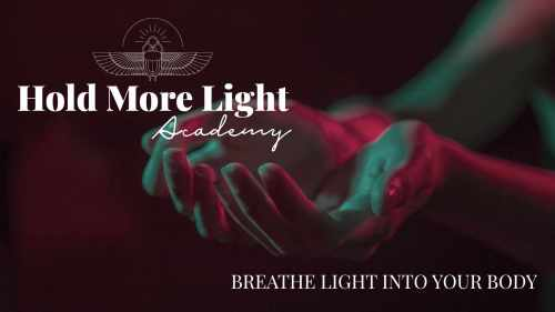 breathe light in