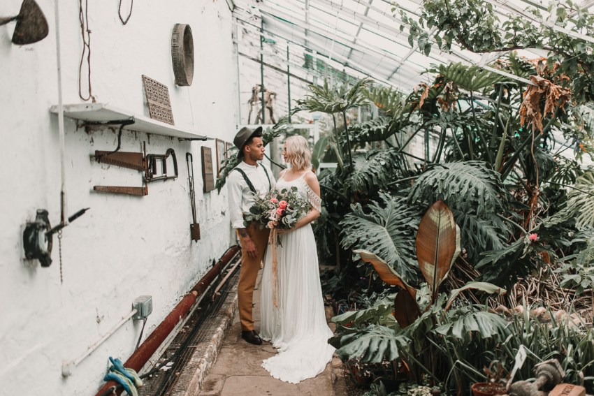 Laid back groom styling and tasselled Shikoba Bride wedding dress. Blush and green Bohemian Wedding Inspiration bringing a little California to you where ever you are in the world. Relaxed styling and desert inspiration and vibes. Wedding ideas for boho brides who an effortlessly relaxed, bohemian wedding. Shot by Natalie Pluck Photography. See full blog post for credits and more inspiration here http://www.nataliepluck.com/bohemian-wedding-inspiration/ 