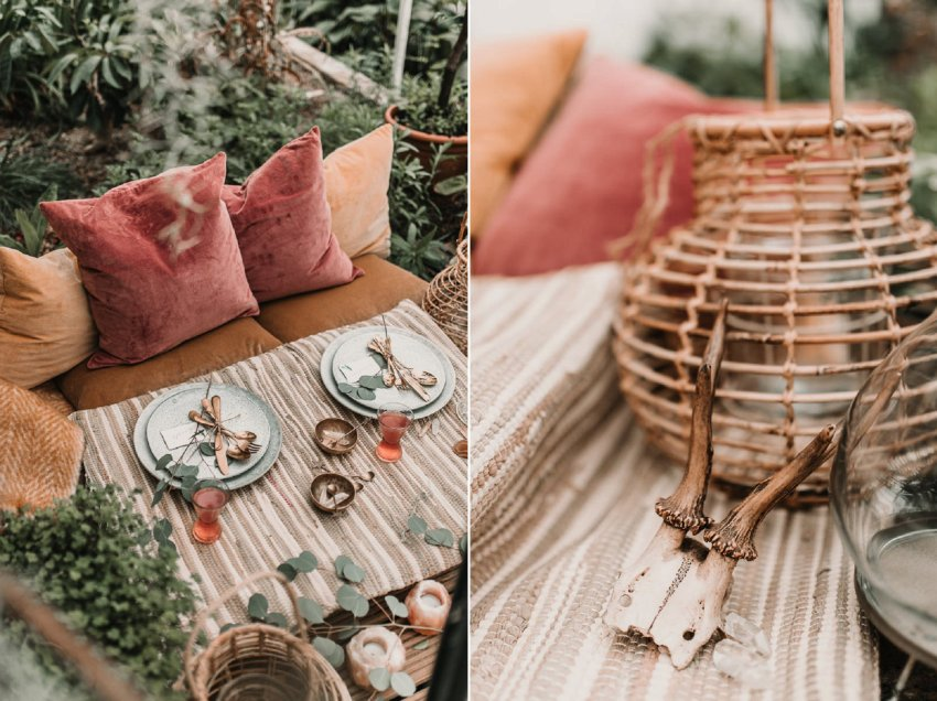 Blush and green Bohemian Wedding Inspiration bringing a little California to you where ever you are in the world. Relaxed styling and desert inspiration and vibes. Wedding ideas for boho brides who an effortlessly relaxed, bohemian wedding. Shot by Natalie Pluck Photography. See full blog post for credits and more inspiration here http://www.nataliepluck.com/bohemian-wedding-inspiration/ 