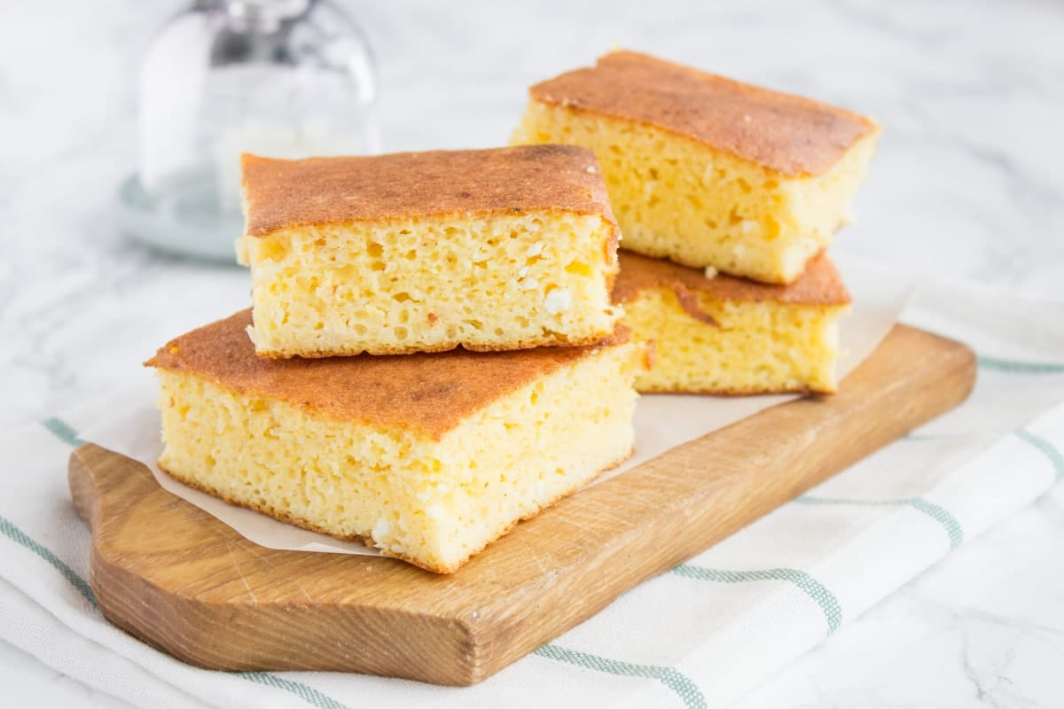 Easy Homemade Cottage Cheese Cornbread