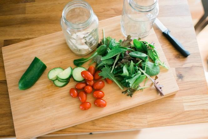 Mason Jar Salads