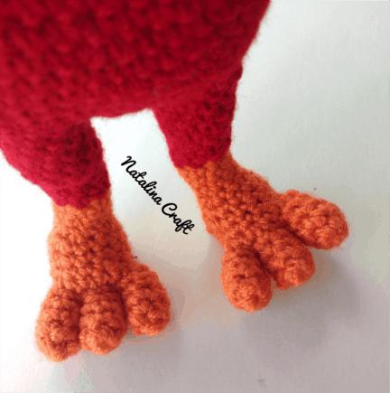 Free Crochet Patterns | Free Crochet Pattern Chicken Amigurumi ... | 435x432
