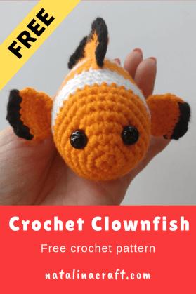 Fish Candy - Free crochet pattern | Crochet fish patterns, Crochet ... | 419x279