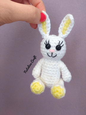 How to Crochet a Basic Doll (With images) | Crochet rabbit ... | 387x290